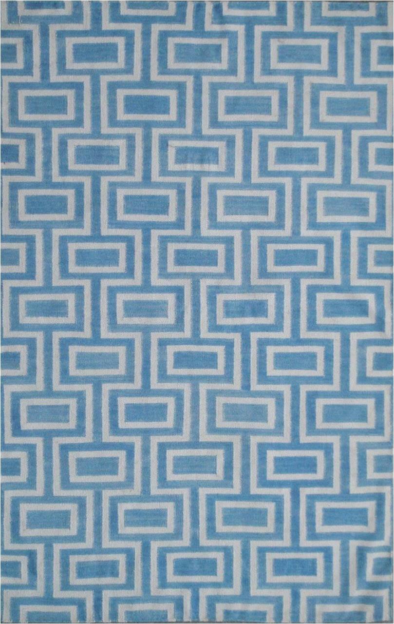 safavieh dhurries dhu562a light blue ivory area rugx