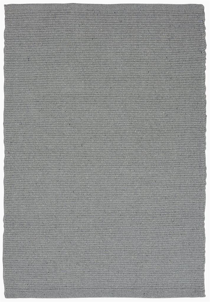 Cotton flatweave solid grey main