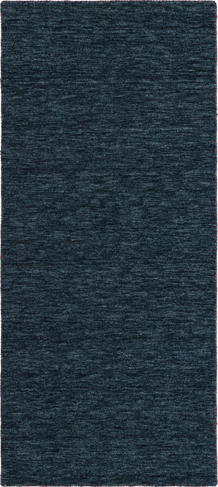 navy blue 6 ft runner solid gabbeh area rug