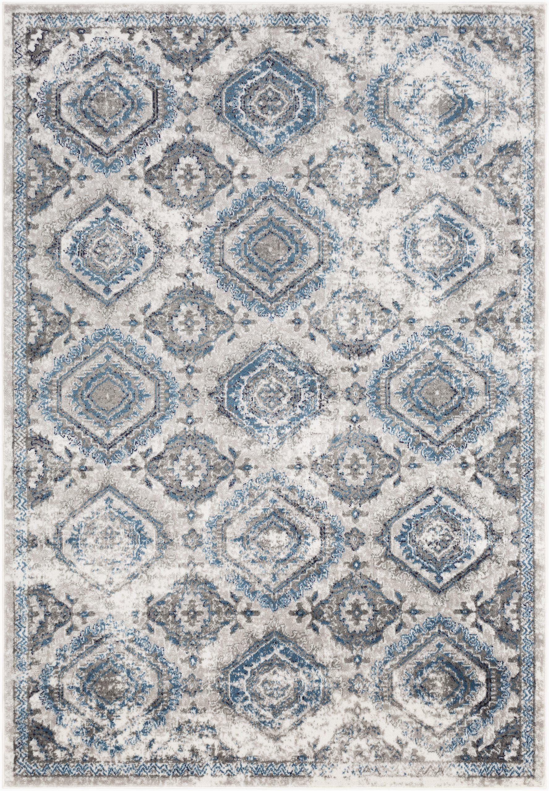 ranck oriental taupelight blue area rug