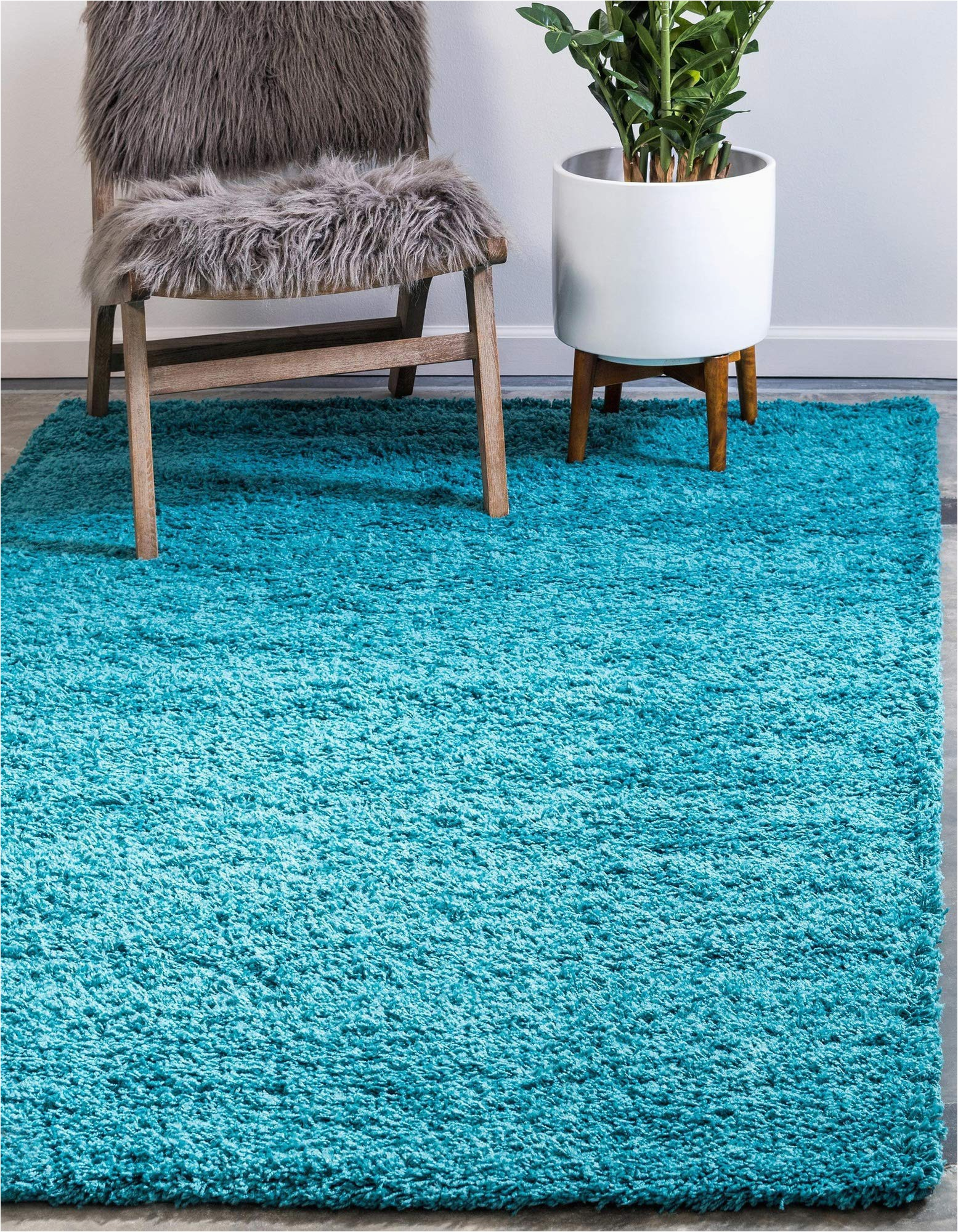 Teal Blue Shaggy Rug Bravich Rugmasters Very Large Teal Blue Shaggy Rug 5 Cm Thick Shag Pile soft Shaggy area Rugs Modern Carpet Living Room Bedroom Mats 160×230 Cm 5ft3