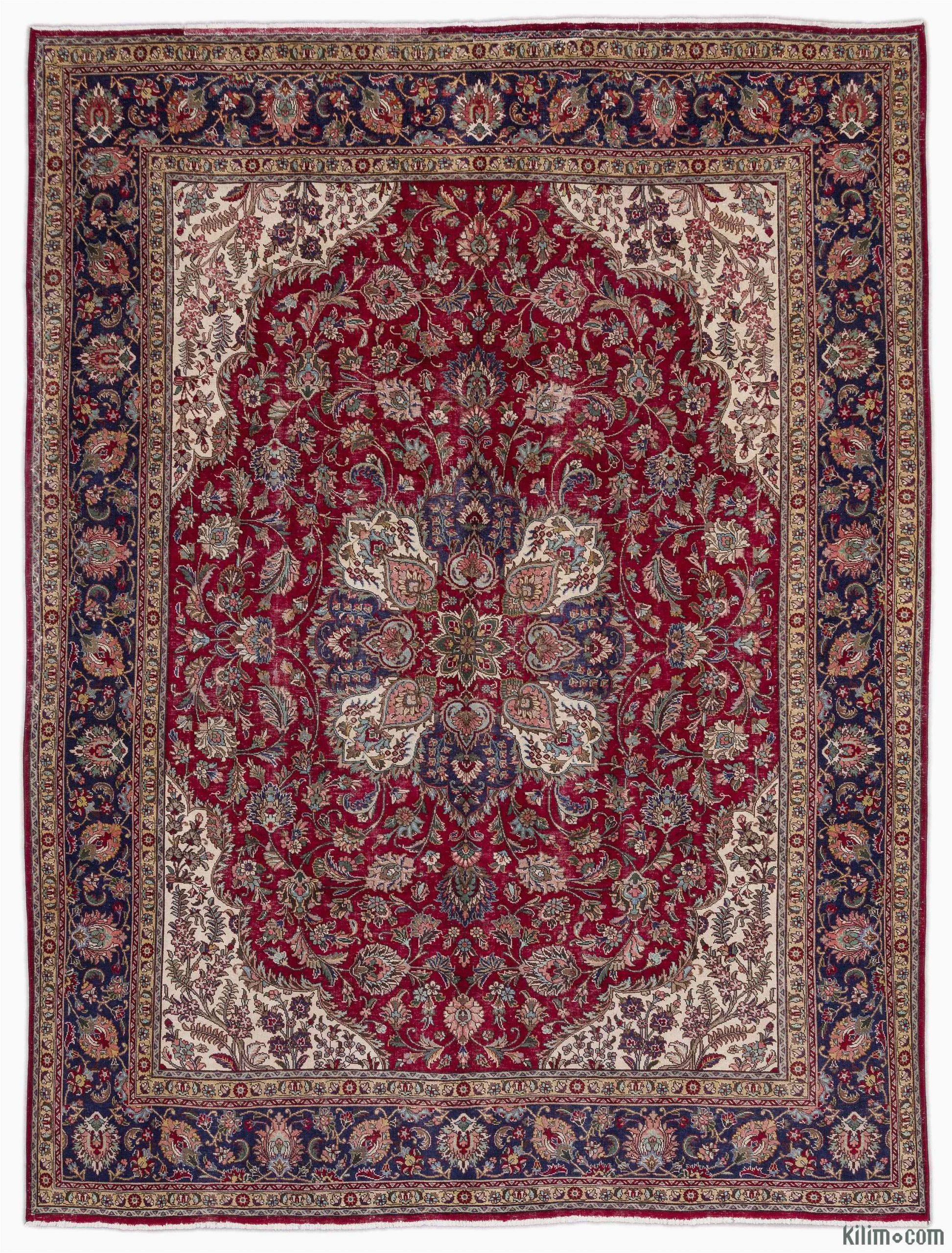 k vintage hand knotted oriental rug
