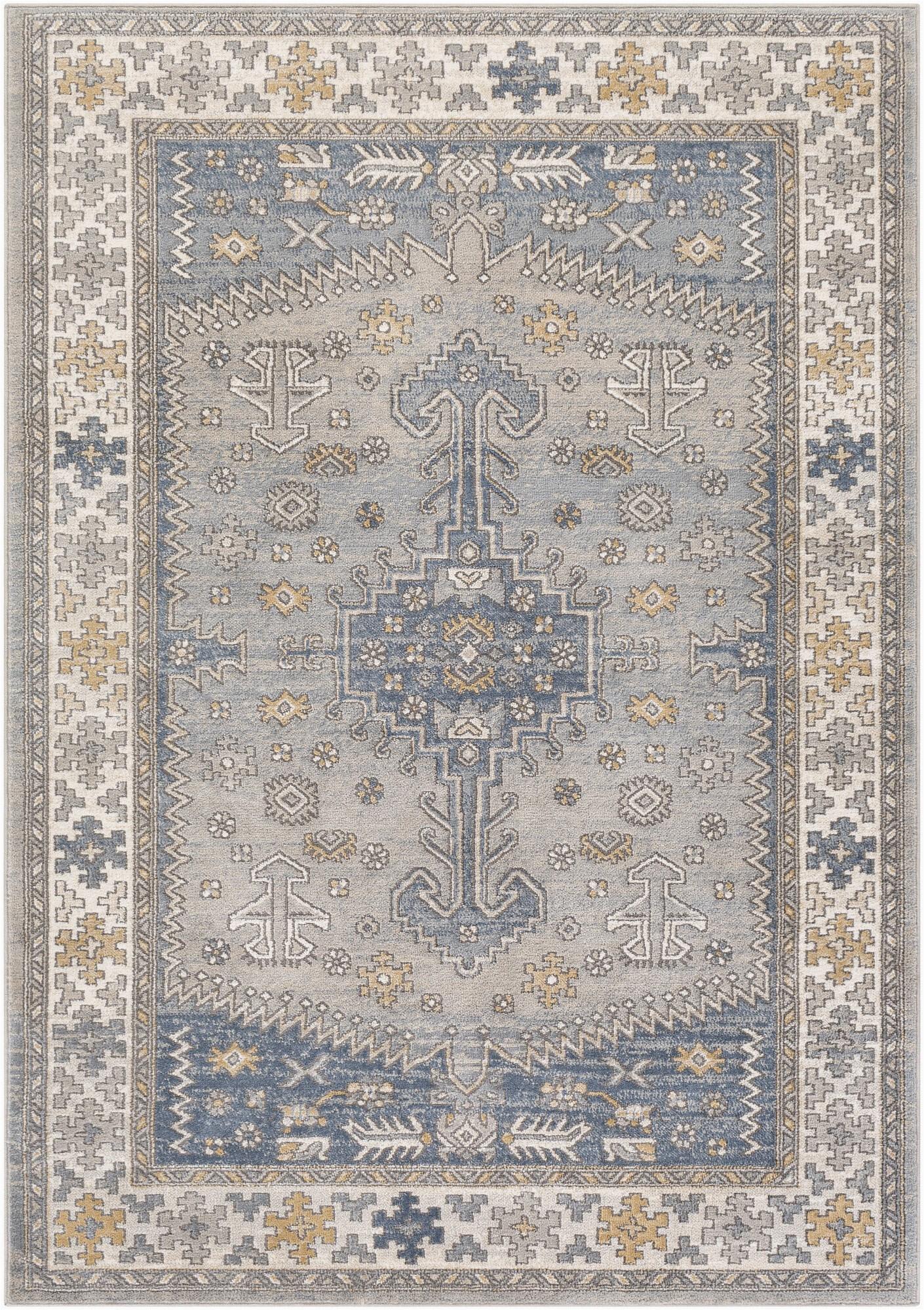 yadira oriental graydenim area rug