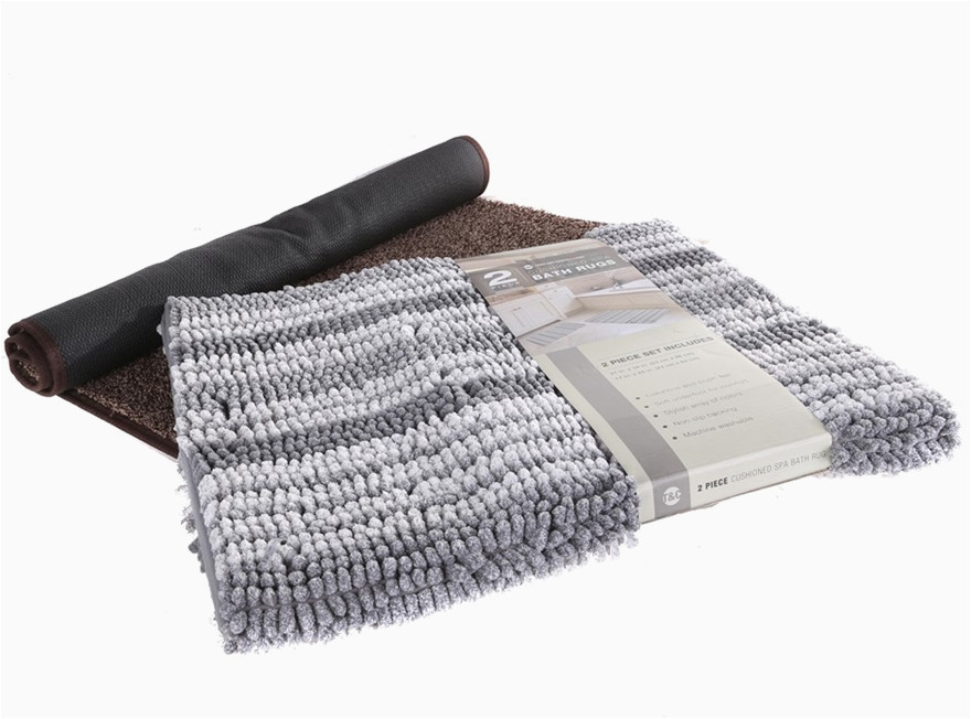 Country Living Bath Rugs 2 X town Country Living Bath Rugs Grey Brown Buyers
