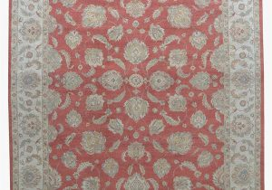10 Feet by 12 Feet area Rugs Merorug Hand Knotted Nepalese Rug 9 X 12 Rust Color 9 Feet