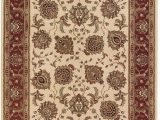 10 Foot by 12 Foot area Rugs Indoor oriental area Rug In Ivory 12 Ft 7 In L X 10 Ft W