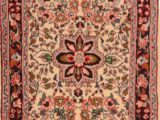 """10 Foot Square area Rug Sarouk Red Square Hand Knotted 1 10"""" X 2 4"""" area Rug 100"""