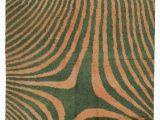 """10 X 11 area Rugs Green orange New Turkish Tulu area Rug 7 10"""" X 11 2"""" 94 In X 134 In"""