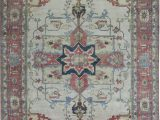 """10 X 17 area Rug E Of A Kind Hand Knotted Beige Rust 11 10"""" X 17 10"""" Wool area Rug"""