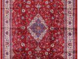 "10 X 17 area Rug Persian Sarouk Handmade area Rug 10 9"" X 17 3"""