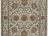 """10 X 18 area Rug E Of A Kind Crown Select Handwoven 11 10"""" X 18 3"""" Wool Green Ivory area Rug"""