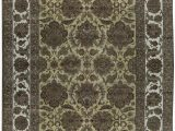 """10 X 18 area Rug E Of A Kind Mountain King Handwoven 11 10"""" X 18 3"""" Wool Green area Rug"""