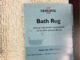 """100 Cotton Reversible Bath Rugs Mohawk Cotton Reversible Bath Rug Size 21""""x34"""""""
