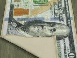 100 Dollar Bill area Rug 100 Dollar Bill Rug Nonslip area Runner Decorative