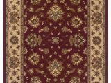 10ft by 12ft area Rugs Ariana 623v Red Traditional Rug 10 X12 7""