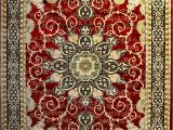 10×10 area Rugs Near Me Hariz 2126 Burgundy 7 10×10 2 area Rugs Carpet Traditional isfahan