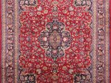 """10×12 area Rugs Home Depot Mashad Red Hand Knotted 9 10"""" X 12 6"""" area Rug 254"""