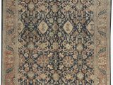 """11 by 11 area Rug E Of A Kind Moroccan Handwoven 11 11"""" X 14 9"""" Wool orange Black area Rug"""