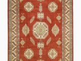 11 by 14 area Rugs solo Rugs Kazak 14 Hand Knotted area Rug 11 X 15 3
