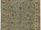 "11 X 17 area Rugs E Of A Kind Aberdeen Handwoven 11 7"" X 17 5"" Wool Blue Beige area Rug"