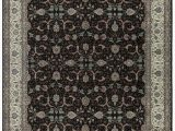 "11 X 17 area Rugs E Of A Kind Jahan Handwoven 11 9"" X 17 9"" Wool Black Ivory area Rug"