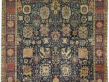 "11 X 17 area Rugs E Of A Kind Magnolia Handwoven 11 11"" X 17 Wool Blue Brown area Rug"