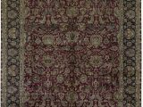 """11 X 18 area Rug E Of A Kind Hand Knotted Brown Red 11 9"""" X 18 area Rug"""