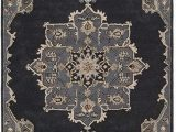 12 Ft by 12 Ft area Rugs Jaipur Rugs Helda Handmade Medallion area Rug In Gray and