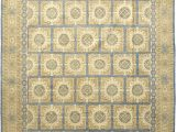 12 Ft by 12 Ft area Rugs solo Rugs Khotan Hand Knotted area Rug In Hazelnut Wool 9 X 12 Ft