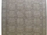 12 X 13 area Rug Amazon Beige Color 13 X 13 Hand Knotted Nepali Wool Rug