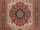 12 X 14 area Rugs Cheap Geometric Indo Heriz Serapi oriental area Rug Handmade Wool Carpet 12×14