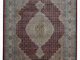 12 X 20 area Rugs E Of A Kind Avonmore Hand Knotted Mahi Tabriz Olive 9 X 12 area Rug
