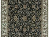 """12 X 20 area Rugs E Of A Kind sona Hand Knotted Black Brown 12 2"""" X 15 3"""" Wool area Rug"""