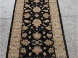 """13 by 15 area Rugs Chobi Black Runner Hand Knotted 2 9"""" X 13 1"""" area Rug 700"""