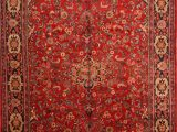 """13 X 20 area Rugs Mahal Red Hand Knotted 10 6"""" X 17 0"""" area Rug 100"""