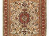13 X 21 area Rug E Of A Kind Cannes Hand Knotted Ivory Red 10 X 13 area Rug