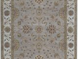 """13 X 21 area Rug E Of A Kind Cornwall Hand Knotted 9 11"""" X 13 10"""" Wool Silver area Rug"""