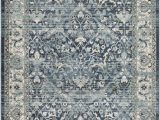 2 by 3 area Rugs Mesopotamia Distressed Traditional Navy Grey 2 X 3 area Rug