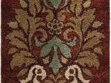 """2 by 3 area Rugs orian Rugs Wild Weave Jacqueline Rouge area Rug 2 3"""" X 8 Red"""