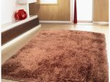 2 Inch Pile area Rug Shop Brown Shag area Rug Two Inch Pile Thick with Cotton