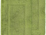 2 X 5 Bath Rug ashley Mills Non Slip Plain Border soft Pile 2 X Bath Mat Plain Floor Rug Lime Green