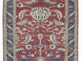 """2 X 8 area Rugs E Of A Kind Kaila Fine Peshawar Hand Knotted 6 2"""" X 8 6"""" Wool Blue Red Beige area Rug"""
