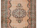 """2 X 8 area Rugs Turkish Vintage area Rug 6 2"""" X 8 5"""" 74 In X 101 In"""