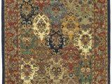 20 X 34 area Rug Costilla oriental Handmade Tufted Wool Multi Burgundy area Rug