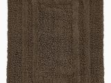 20 X 50 Bath Rug Hotel Collection Cotton Reversible 18 Inches X 25 Inches Bath Rug Pamper Your Feet with This Super soft Reversible Bath Rug Chocolate