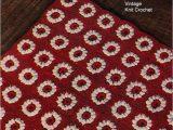 24 X 36 area Rug Crocheted Flower Rug Pattern