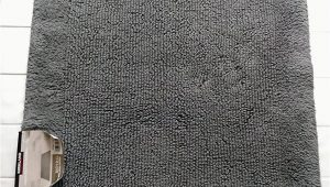 "24 X 36 Bath Rug Kirkland Luxury Spa Bath Rug 24"" X 36"" X 3 4"" Gun Metal Gray"