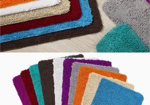 24 X 60 Bathroom Rug Memory Foam High Pile Shag Rug 24 X 60 Bathroom Mat Long Non