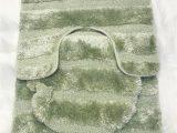 3 Piece Memory Foam Bath Rug Set Luxurious Super soft 3 Piece Bath Rug Set In Pistachio From Papiyona Comfort Bay