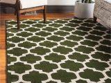 3 X 5 Green area Rugs Unique Loom Trellis Collection Moroccan Lattice Dark Green area Rug 3 3 X 5 3